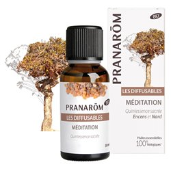 Pranarom Diffusion Méditation et saintes odeurs 30 ml