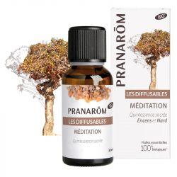 Pranarom Meditação Difusão e 30ml odor santo