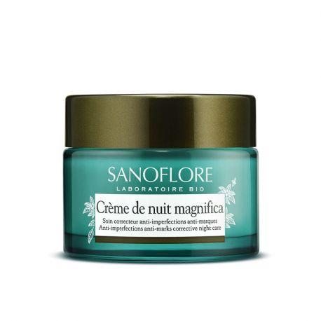 Crème de nuit Magnifica Sanoflore