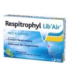 Respitrophyl Lib Air Confort respiratoire gélules