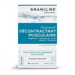 Décontractant musculaire Granions 60 comprimés