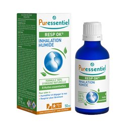Solution respiratoire inhalation humide Puressentiel