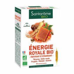 SANTAROME BIO énergie royale bio 20 ampoules 10ml