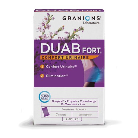 Duab Fort 7 sachets urinary disorders