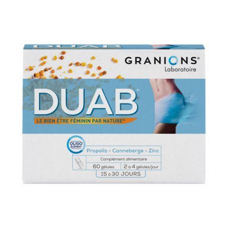 Duab cystite NUTRIVERCELL 60 gélules