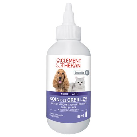 CELMENT THEKAN CUIDADO DE OREJAS CAT DOG 100 ML