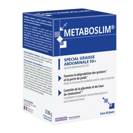 Sante-Naturelle Metaboslim graisse abdo50+ 90 gélules