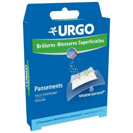 Urgo Brulures Pansement Waterproof