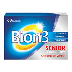 BION 3 SENIOR PROBIOTICS + VITAMINS AND MINERALS CP 60