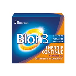 BION 3 ENERGY PLUS 30 COMPRIMIDOS