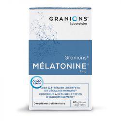 Granions Mélatonine Sommeil 1 mg 60 Gélules