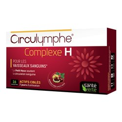 Circulymphe Complex H Green Health Hemorrhoid 16 tabletten