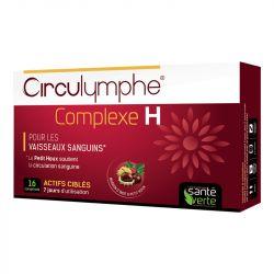Circulymphe Complexe H Santé Verte Hémorroïde 16 comprimés