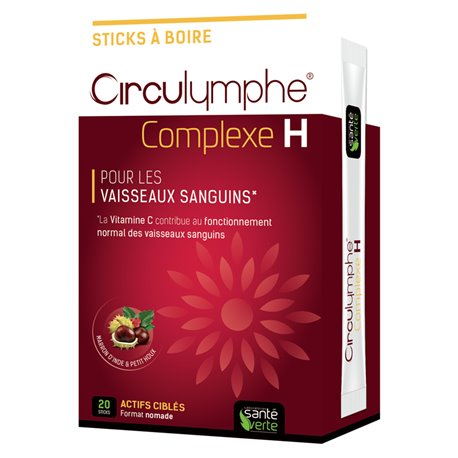 Circulymphe Complexe 20 Sticks Santé-Verte