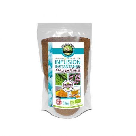 Ecoidées Infusion Curcuma / Sucre de Coco 150 g