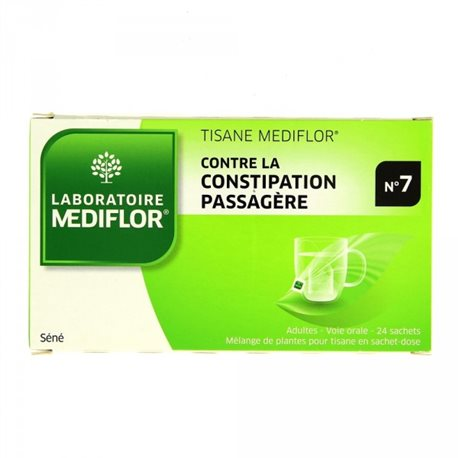 Mediflor 7 CONSTIPATION Mixing plants for herbal sachets Case 24
