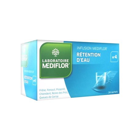 Mediflor Infusion 4 WASSERBINDER 24 Sachets Dose