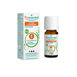 Puressentiel Expert Aceite esencial orgánico Lista de limones 10 ml
