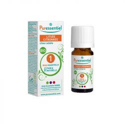 Puressentiel Expert Huile Essentielle Bio Listée Citronnée 10 ml