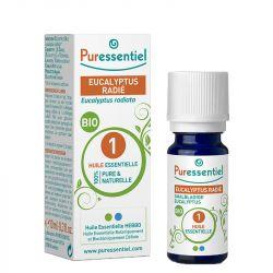 Puressentiel Eucalyptus مشبع بالزيت الأساسي 10ml