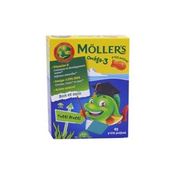 Mollers Gommes P'tits Poissons x45