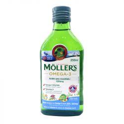 Mollers Huile Foie de Morue Liquide Tutti Frutti 250 ml