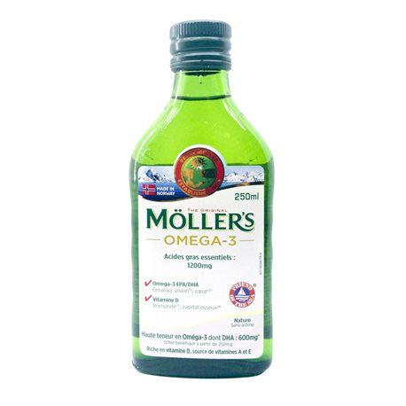 Mollers Huile de Foie de Morue Liquide 250 ml