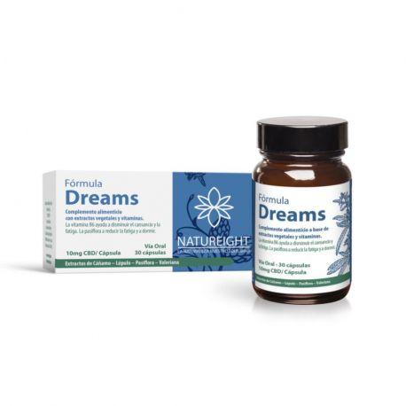 Natureight Dream Sommeil endormissement CBD 30 capsules
