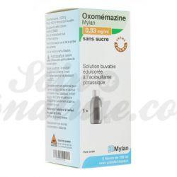 OXOMEMAZINE Mylan 0.33 MG SUGAR 150ML