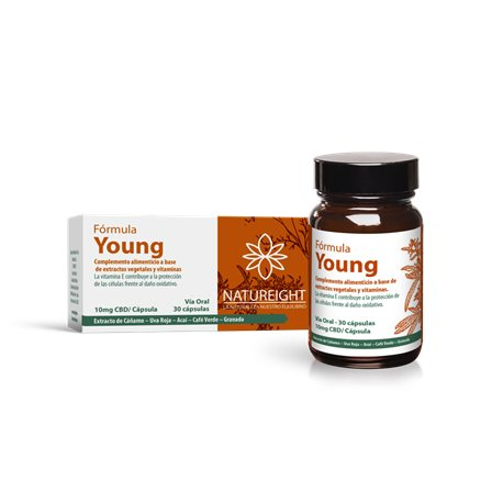 Natureight Young Antioxydant CBD 30 capsules