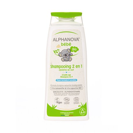 Alphanova Bébé Bio Shampoing Très Doux 2-en-1 200 ml
