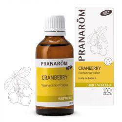 Huile végétale bio Cranberry Pranarom 50ml