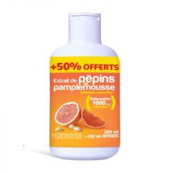 Nutrisanté extracto de semilla de pomelo 200 ml + 50 ml