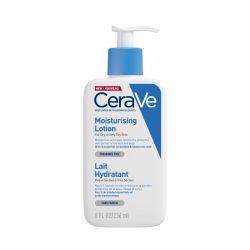 CeraVe leite hidratante rosto e corpo pele seca