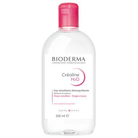 Bioderma Créaline H2O Solution micellaire sans parfum 500ml