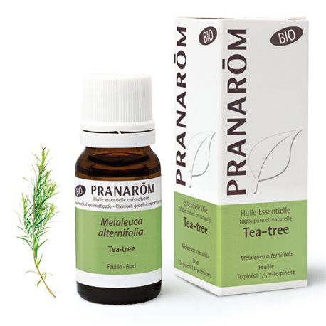 Aceite esencial ORGÁNICO Árbol del té Melaleuca alternifolia PRANAROM 10ml