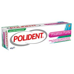 Polident Fixation Strong Dental Appliance Adhesive Cream 40G