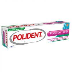 Forte fixação adesiva Polident dentadura creme 40G