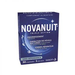 Novanuit Melatonin Asleep 30 tablets