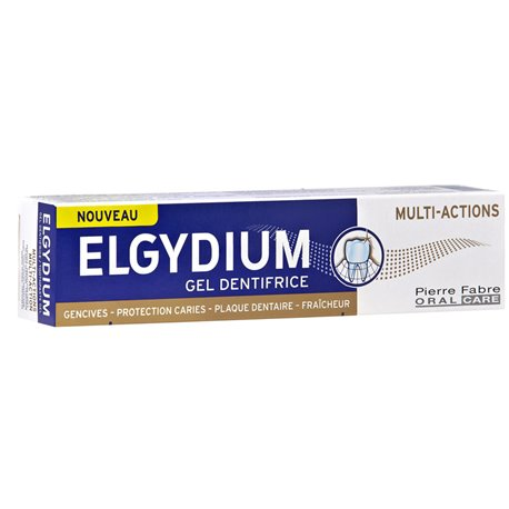Elgydium Dentifrice Multiactions 75 ml
