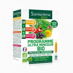 Santarome bio solution buvable programme minceur 30 ampoules 10 ml