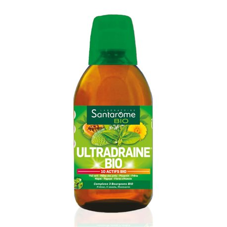 Santarome ultradraine bio solution buvable Draineur 500 ml