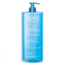 Uriage gel surgras dermatologique peaux sèches 1 litre