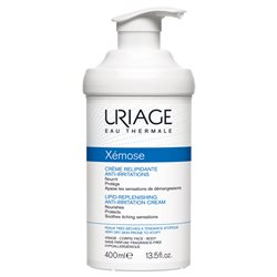 Uriage xemose crème relipidante anti-irritations 400 ml