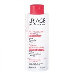 Uriage eau micellaire démaquillante peau intolérante 500ml