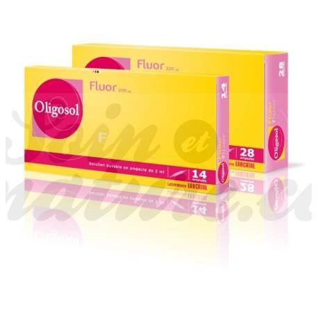 Oligosol FLUOR 28 BOMBILLAS Minerales y oligoelementos