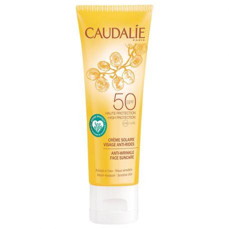 CAUDALIE soleil divin SPF50 crème solaire anti-âge