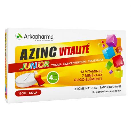 Arkopharma Azinc Vitalität Junior Geschmack Cola