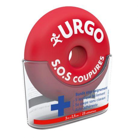 URGO SOS coupures bande auto-adhérante 3 m x 2.5 cm