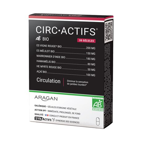CIRCGreen Circulation Bio 30 gélules SYNActifs